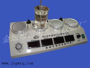 CJJ-4A 数显多头恒温磁力加热搅拌器