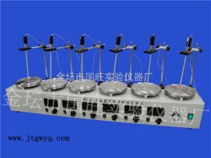 HJ-6B 六联数显恒温磁力加热搅拌器