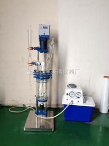 DFD-5L 5L双层玻璃反应釜 达丰玻璃反应釜 调速反应釜 专业生产厂家