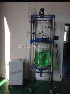 DFD-100L 双层玻璃反应釜 达丰玻璃反应釜 变频调速反应釜 专业生产厂家
