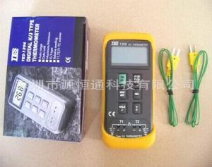 臺灣泰仕數字雙通道溫度計TES-1306