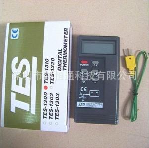 臺灣泰仕錫爐溫度測試計TES1310 TYPE-K