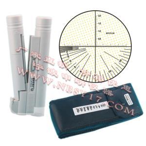 WYSKE-40X 40倍带光源读数显微镜 (带角度、分划板可旋转)