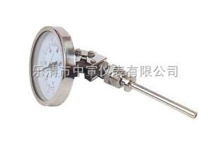 WSS414 襯氟防腐雙金屬溫度計