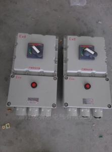 BDZ52-10A20A30A40A50A60A防爆断路器自动空气控制器开关