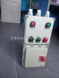 BQD一回路防爆电磁起动器带启停按钮防爆交流控制箱