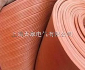 5mm紅色絕緣膠墊 供應熱電廠專用膠板價格