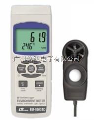 风速/照度/温度/湿度仪路昌EM9300SD
