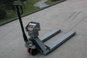 SCS 手動搬運叉車電子磅秤不銹鋼無線液壓車稱