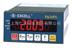 仪表控制器EX2005连接继电器英展显示器