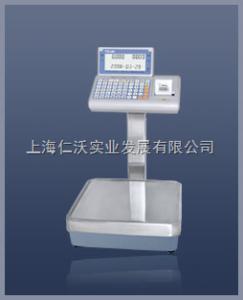 台衡电子秤 XK3108内置打印电子秤,PPW-30K+高精度不干胶打印电子称