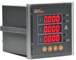 安科瑞PZ72-AI3/KC 三相电流表/带开关量