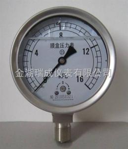 RCYE- 膜盒壓力表