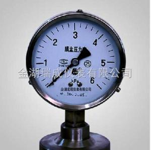 Y-100/150W 微壓壓力表