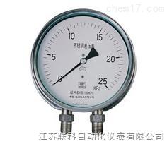 LK 全不锈钢安全型压力表