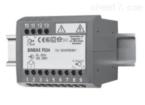 GMC强电流单一功能变送器SINEAX F 534