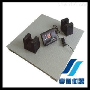 工業計重地磅-上海亭衡衡器廠-2噸平臺式電子秤