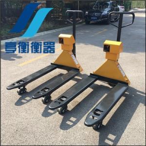 衢州搬运叉车磅秤 YCS-2T液压叉车电子称