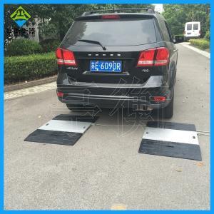 便携式公路超载检测系统100吨移动电子地磅