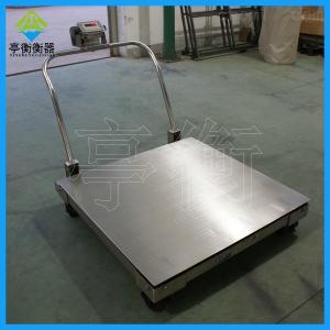 物流公司用电子秤SCS-SR系列移动电子地磅秤