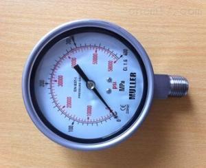 Y-ML63/10 手动泵专用压力表 Y-ML63/10
