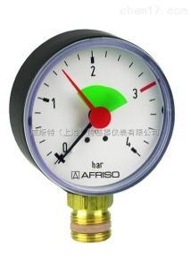 菲索AFRISO耐震压力表东莞特价销售