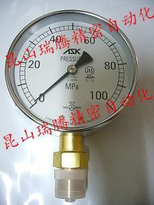 AK-1/2-100x100MP 压铸机配件-ASK压力表AK-1/2-100x100MPa
