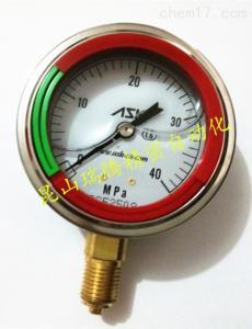 ASK压力表 OPG-AT-G1/4-60x40MPa-CR彩色环压力表