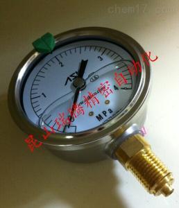 OPG-AT-G1/4-60x4MPa 甘油压力表ASK耐振压力计