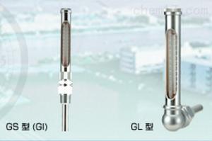 GS,GL 右下精器MigishitaSeiki玻璃制溫度計