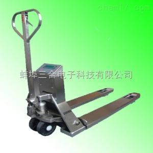 2.5吨不锈钢叉车秤,防锈液压叉车称