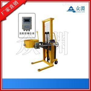电子油桶秤,带称重油桶升高油桶秤