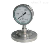 Y-100BF/Z/MC 卫生型隔膜压力表(0-0.1MPa),上海自动化仪表四厂,白云牌