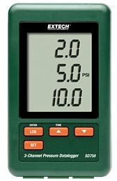 EXTECH SD750 压力计,SD750 3通道压力计,EXTECH中国区代理