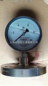 上海自动化仪表四厂Y-60BFZ/Z/MC卫生型抗震隔膜压力表