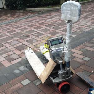 YCS-2t 不锈钢2吨电子叉车秤多少钱