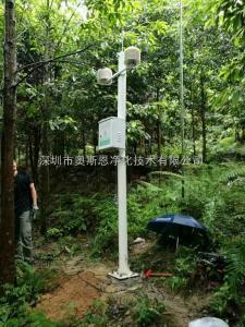 在线负氧离子温湿度空气质量监测系统