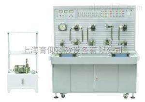 YUY-16X液压传动与PLC控制装置(工业带组态软件)|透明液压实训台