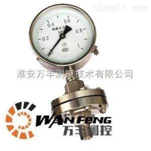 YNML-100隔膜耐震压力表 0-6.0MPa