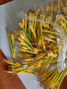 厂家供应 国标 黄绿BVR光伏组件跨接线 连接线价格