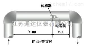 TD-DP100 混合液体流量测量,多普勒超声波流量计