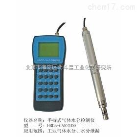 HBD5-GAS2100 便携式气体水分测试仪/湿度测试仪/露点仪