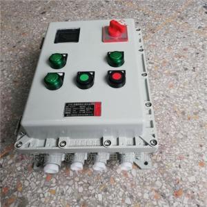 防爆现场电机正反转控制箱