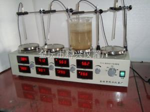 HJ-4A 多头控温磁力搅拌器