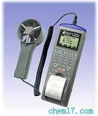 AZ-9871 列表式風速/風溫/風量/濕度/露點儀