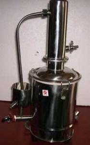 10L 不锈钢蒸馏水器