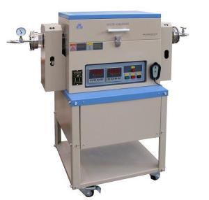 OTF-1200X-4-R-Ⅱ 1200℃双温区可倾斜旋转炉OTF-1200X-4-R-Ⅱ