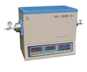 GSL-1600X-Ⅱ 1600℃双温区高温真空管式炉GSL-1600X-Ⅱ