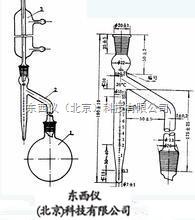 wi93849 水分測定器/水分接收器 (冷凝管、接收管10ml、圓底燒瓶