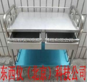 wi97140 wi97140  不锈钢双抽屉治疗车.器械台 小推车